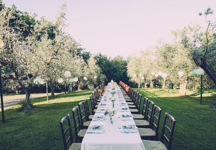 Italiaanse lange bruidstafel de ultieme Italiaanse wedding styling