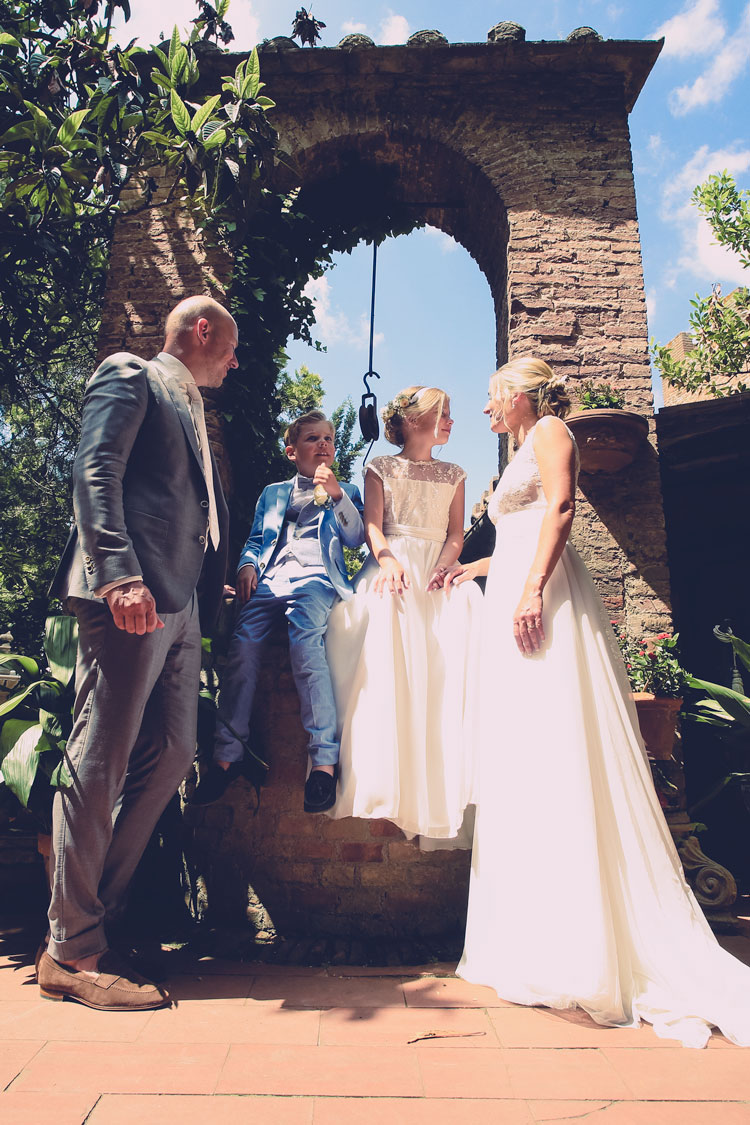Fotoshoot Italiaanse bruiloft in Nederland