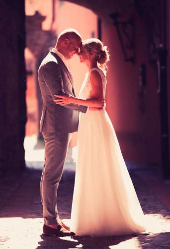 Een fotoshoot in Italiaanse stijl is ook mogelijk bij een Italiaanse bruiloft in Nederland