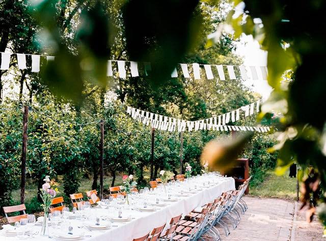 Italiaanse bruilofttafel Olmenhorst