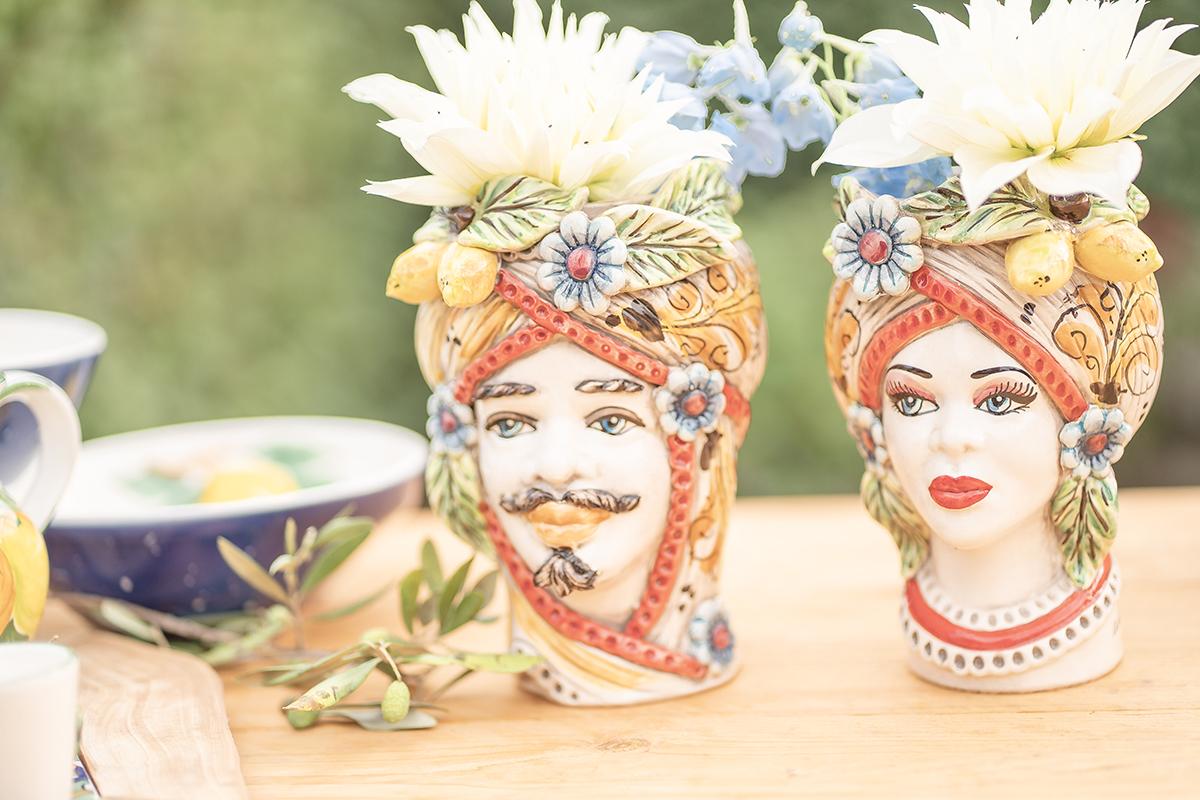 Italiaanse wedding styling bruiloft tafel met Italiaanse styling