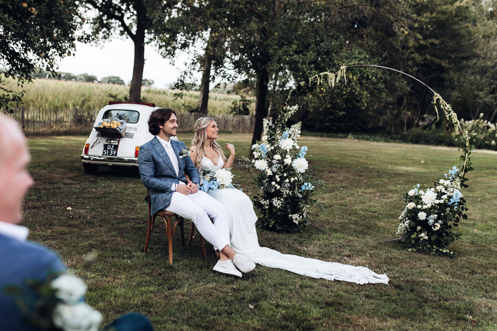 Italiaanse bruiloft in Nederland